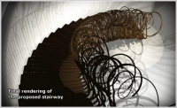 Jefferson Mack Metal smiths stairways using modern methods steeped in the past
