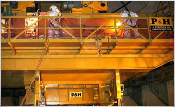 Morris Material Handling continues to provide nuclear services, lifting equipment