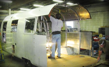 An Airstream aftermarket