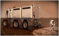 Mars exploration vehicle concept nets award for Montgomery Design International