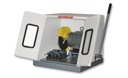 Wet-cutting benchtop saw offers economical operation