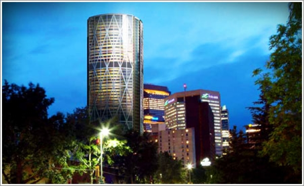 The Bow tower will bring an innovative steel design to downtown Calgary, Alberta