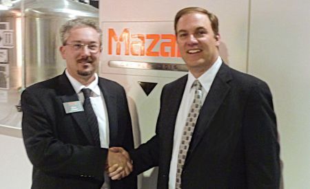 Mazak adds A.W. Miller as distributor