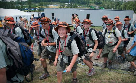 Industry invests in Scouting