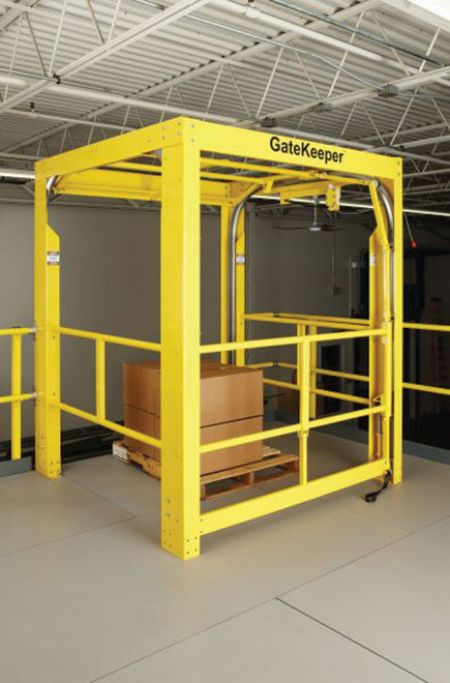 Safety gate makes loading less hazardous