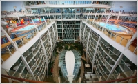 The Oasis of the Seas is currently the world's largest cruise ship