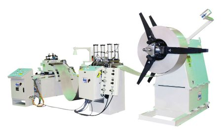 Press feeder for food service manufacturer