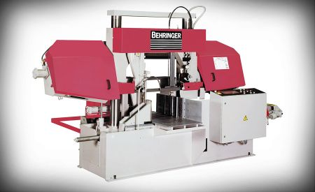 Automatic band saw for structural material