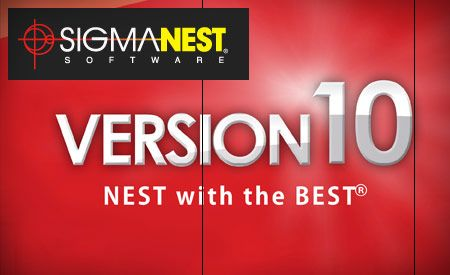 SigmaNEST releases V10 of its nesting software
