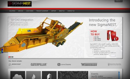 SigmaTEK launches New SigmaNEST.com website