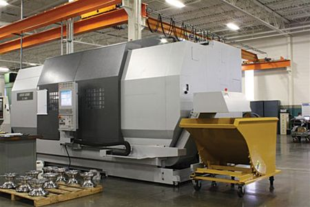 CNC machines meet demand