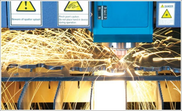 BR Metal Technology gets a big boost from its automated Mitsubishi laser system