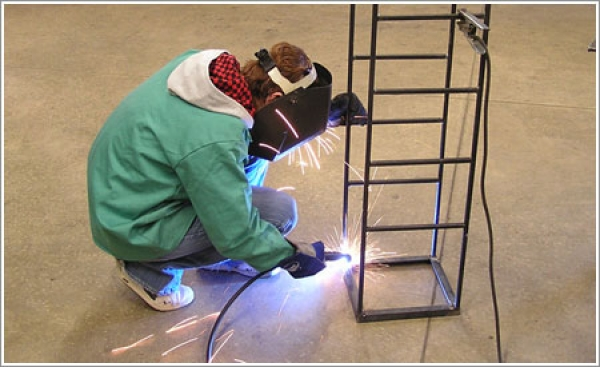 Despite tough times for vocational education, one high school welding program stands out