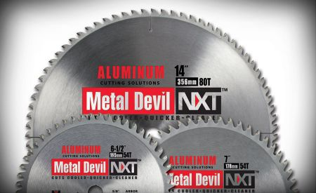 Aluminum cutting blades  offer long life