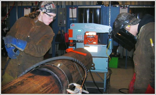 At Alaska Vocational Technical Center, pipe welding dreams become reality