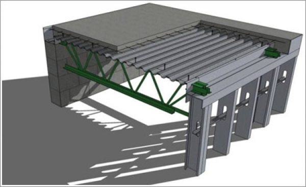 Nucor-Vulcraft's recyclable floor system is gaining ground in a niche market