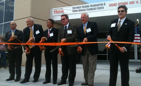 Mazak opens Southwest center