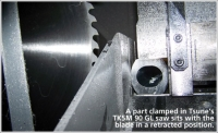 Tsune America's nonferrous saws take accuracy to a new level