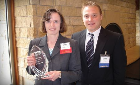 Jet Edge receives manufacturing excellence award
