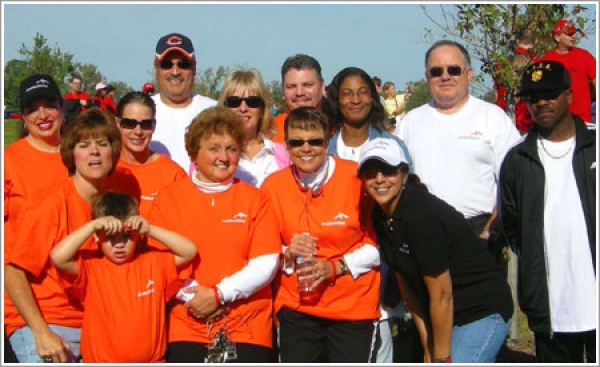 ArcelorMittal works with the American Heart Association to promote wellness among its employees
