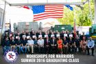 Workshops for Warriors honors 43 Veterans, Wounded Warriors, transitioning service members at summer graduation