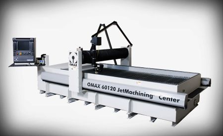Waterjet performs cutting quickly, accurately