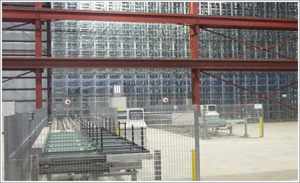 Klein Steel's storage system from Kasto Inc. saves on costs and increases productivity