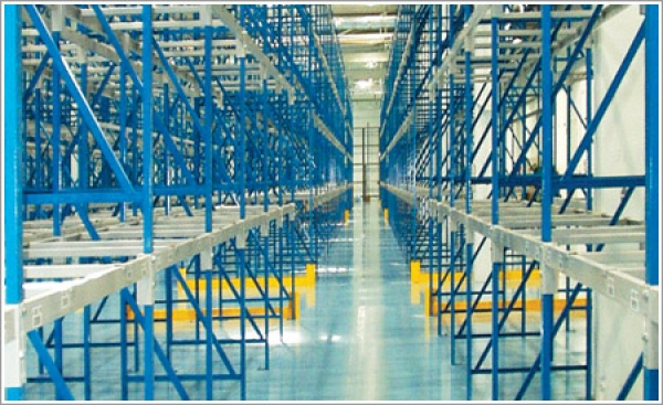 Structural rack systems from WC Cardinal keep materials organized and off the floor