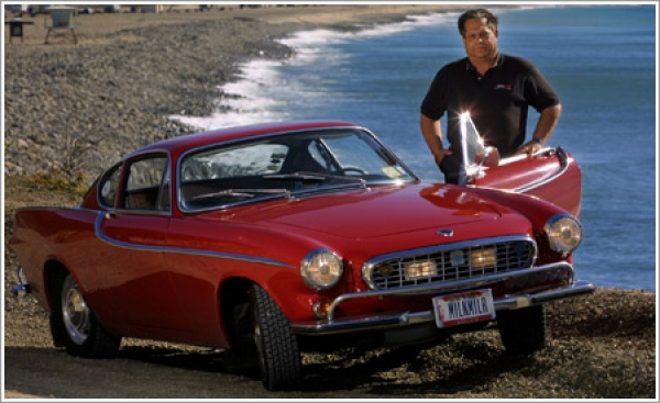 Automotive pioneer pledges to drive his 1966 Volvo for at least 3 million miles