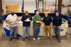 Prize turns profit on day 1 for IMTS waterjet winner