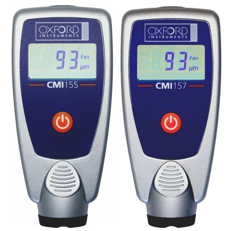 CMI155 and CMI157 measures the thickness of single layer coatings or the total thickness of applied coatings