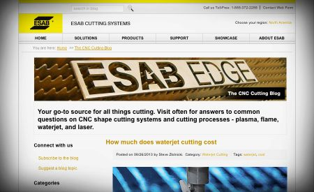 ESAB CNC cutting blog