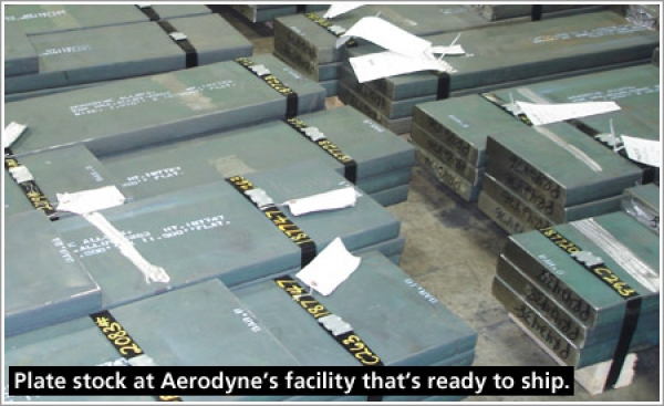 Aerodyne Alloys has inventory on-hand for all its customers' alloy needs