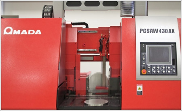Penn Stainless increases efficiency and productivity with Amada's PC saw line