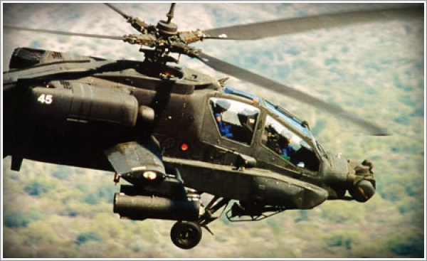 Timken supplies Apache Longbow helicopters with the gearboxes they need to fly critical missions