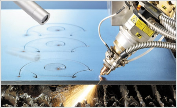 An Alpharex laser tackles heavy plate cutting at Russel Metals