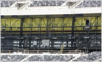 Steel hollow structural sections play a key role in the construction of Meadowlands Stadium