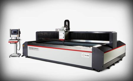 Control taper with precise waterjet technology