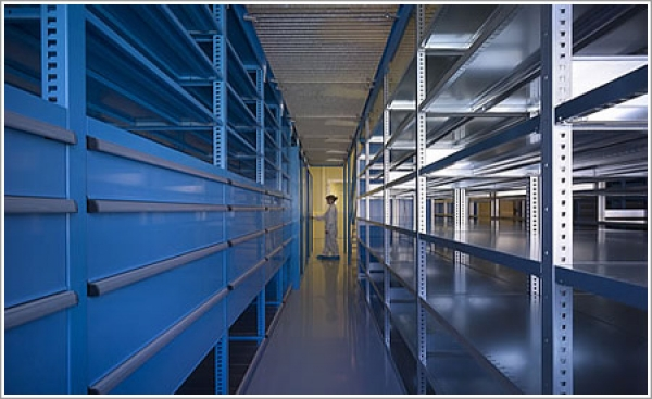 Lista International's Storage Wall System optimizes efficiency, saves time and space