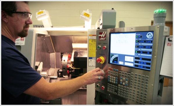 Haywood Community College's advanced machining center hopes to advance the skills of area manufacturing workforces