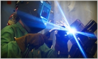 Harper College's Intro to Welding for Women class nurtures the creative side of the torch