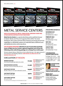 MetalServiceCenters 2022 MediaKit 2 cover